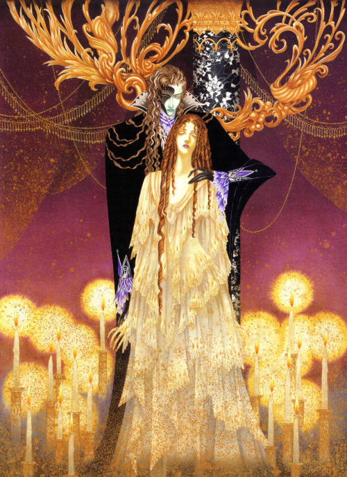 enchantingimagery:  A Phantom of the Opera Illustration by Toshiaki Kato