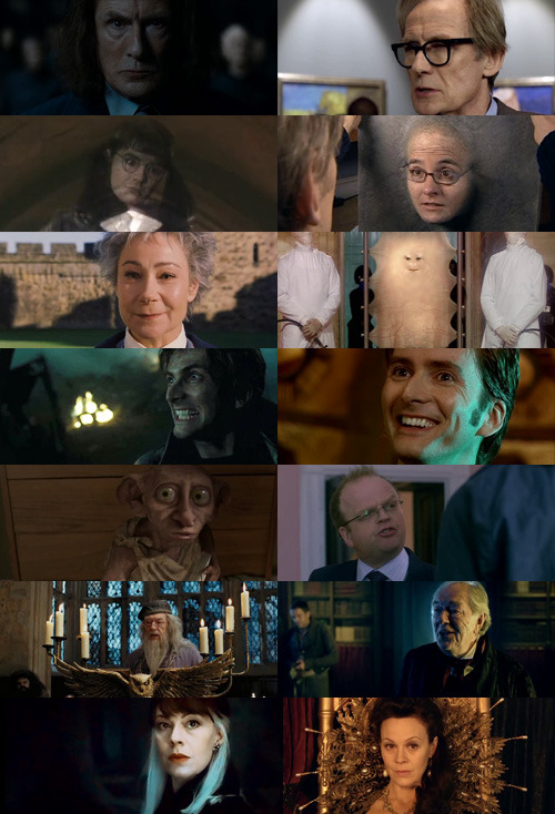 whydidwehavetofollowthespiders:  People who were in both Harry Potter and Doctor Who.