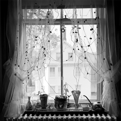 liquidnight:  Stephen Guion Williams Bedroom Window Silver gelatin print [via arsvitaest]