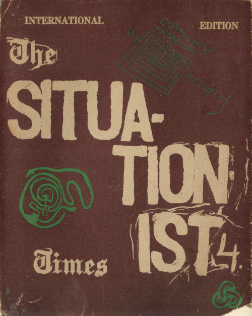 The Situationist Times, No. 4, Labyrinths, Edited and Published by Jacqueline de Jong