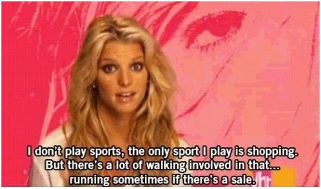 Word of Wisdom from Jessica Simpson.