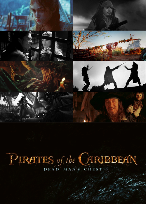 MY TOP 300 FAVOURITE MOVIES (in no particular order):  002 - Pirates of the Caribbean - Dead Man's Chest