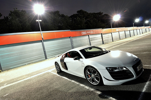 automotivated:  Audi R8 V10 GT (by Maxime Jouet / El-Astic)