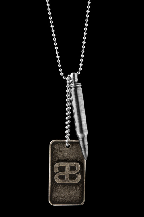 Bullets2Bandages.Org Bullet Necklace Proceeds from the sale go to benefit non-profits that support wounded veterans and their families.