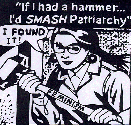 Feminism: The radical notion that women are people.