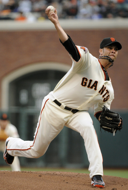 IP 6.1 H 7 R 0 BB 1 SO 5 Ryan Vogelsong keeping the magic season going. (Thearon W. Henderson/Getty Images)