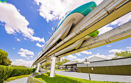 The Great Monorail Race (by Tom Bricker (WDWFigment))