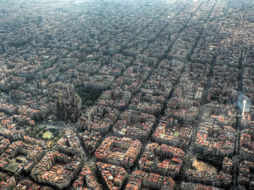 An Aerial View of Barcelona The planning was impeccable but it's still a clusterfluk.