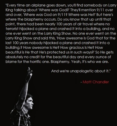 onethingonly:  -Matt Chandler