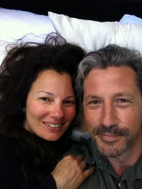 GOOD MORNING AMERICA. Fran Drescher and Charles Shaughnessy  together again (Thanks Charles for tweeting this photo)