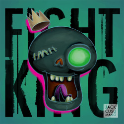 THE FIGHT KING from tonight's Adventure Time episode!