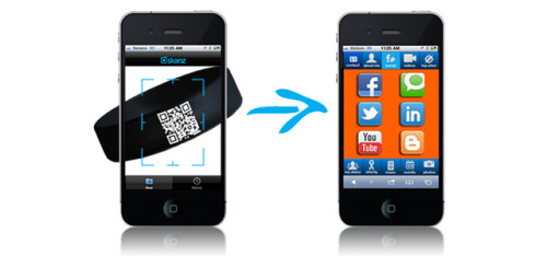 Your online presence, captured in a single QR code There's no doubt the venerable business card has served generations of meeting attendees well, but today's highly networked era seems to call for something more. Much the way the MingleStick helps translate physical meetings into online ones via a dedicated device, so Skanz uses QR codes to capture and share users' online presence. READ MORE… springwise:
