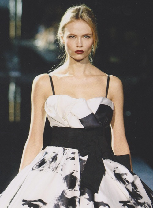Natasha Poly at Dolce & Gabbana Fall 2009