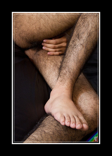 fuckyeahhairylegs:  Male Model Five-28 (by Miguel Asecas)  Oy, it's hot in here, and it ain't just the weather…
