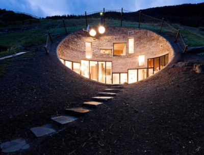 (via Beautiful Swiss House is Buried Under the Earth | Inhabitat - Green Design Will Save the World)