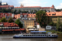 my own photo taken from charles bridge in prague, czech republic :)