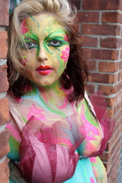 New Post at QueerFatFemme.com: My Body Painting Photoshoot with Camrose Artes Infinitae. It was a really great form of bodywork.