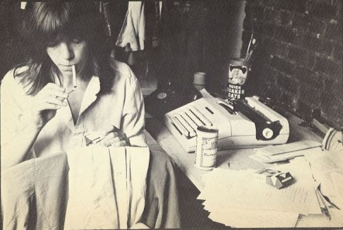 Ladies and gentlemen, without further ado: Eileen Myles