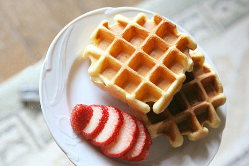 mariwo013:  waffles by hanabi. on Flickr.