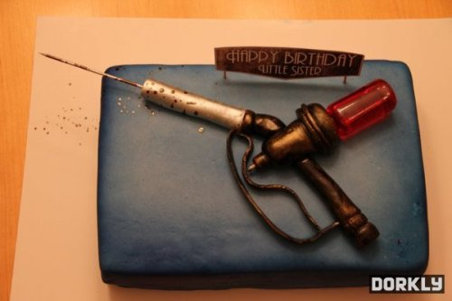 Bioshock Birthday cake!