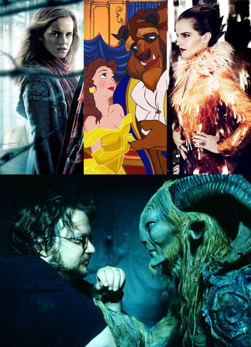 Del Toro making 'Beauty and the Beast' with Emma Watson ? — According to ComingSoon/FirstShowing, Watson may have stepped out of one fantasy world, right into another. The worldwide mega-star of the Harry Potter film series, possibly directed by Guillermo Del Toro, for the classic tale… now THIS could really be something! Stay tuned! For those not familiar, Del Toro brought us: Hellboy (2004), and Pan's Labyrinth (2006).