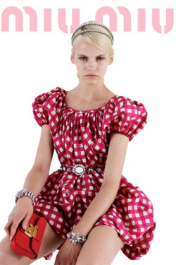 Better late than never!  Click to view more looks from Miu Miu's Resort 2012 Collection.