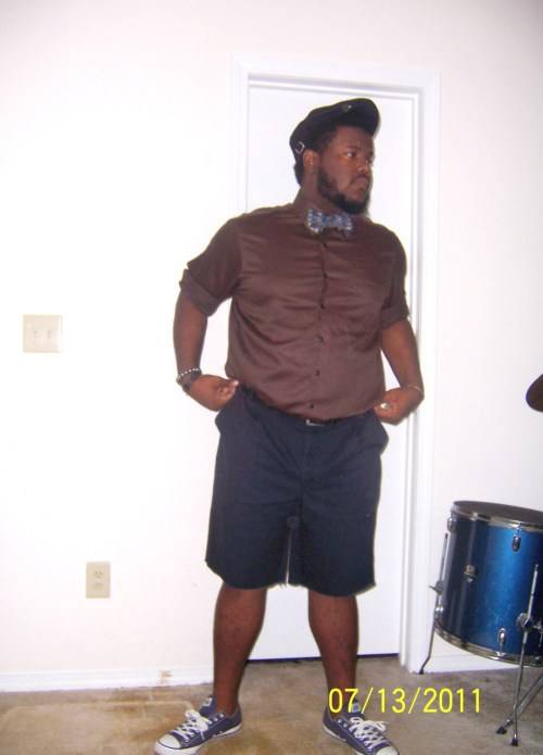 bigboyfashion:  bowtiebrown.tumblr.com See how you can replicate this look here. Love the summer style. Share your style with us. Send us photo(s) that show your look and personality and we'll share them here on the site.