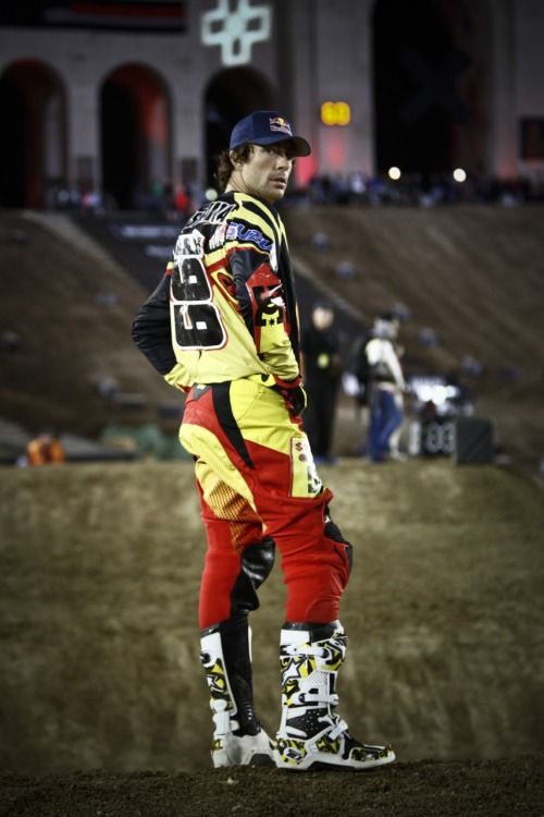 The man, the myth, the legend, Travis Pastrana never ceases to amaze. After already undertaking the schedule they are calling Pastranathon, Mr. TP himself is adding one more comp to his Best Trick, fly to Indy for NASCAR and make to LA for RallyCross plate. Yes, TP is confirmed for Friday night's Moto X Freestyle comp to defend his gold. It is going to be AWESOME, come check him out LIVE Friday night at STAPLES Center!