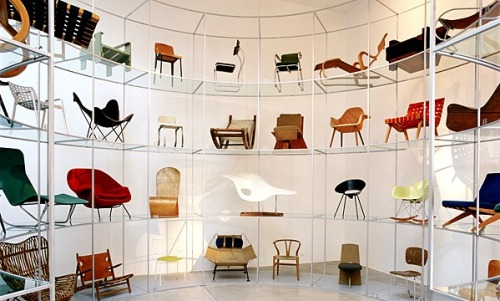 analogdialog:  Vitra Chair Museum