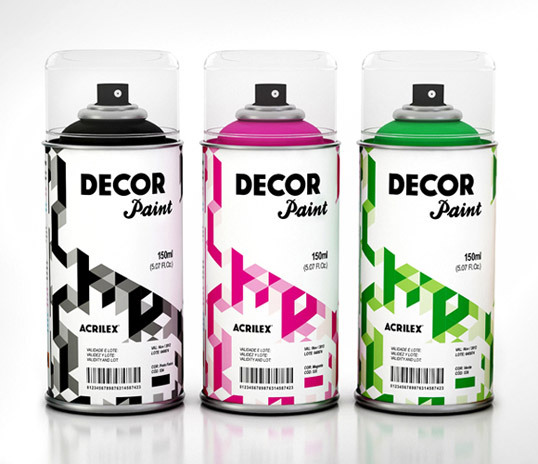 Acrilex Decor Paint Designed by Da Urca Comunicação