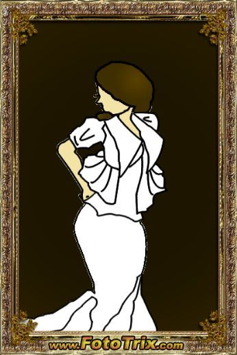 Cat made this picture of me in my wedding dress. I am really impressed on how accurate the dress style is! I showed the jacket but only described the rest in this video. Thanks Cat! I love it. Speaking of the dress, everything is going really well and I am in love with what I have so far! I cannot wait till it is finished though…I would like to be able to sleep at night again:)