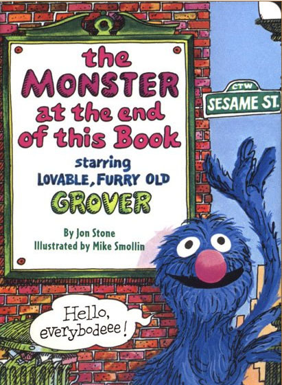 The Monster at The End of This Book Remembered by vhsdreamz