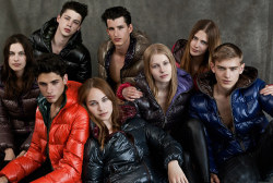 Duvetica Fall/Winter 2011 | Julian Hennig, Bo Develius, Ash Stymest, and Adrien Brunier by Alessandro Bencini