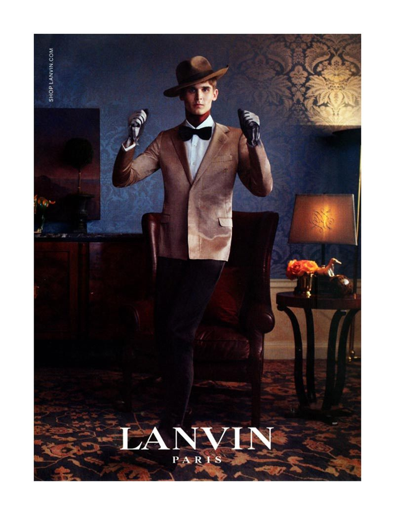 Lanvin fall/2011 campaign shot by Steven Meisel