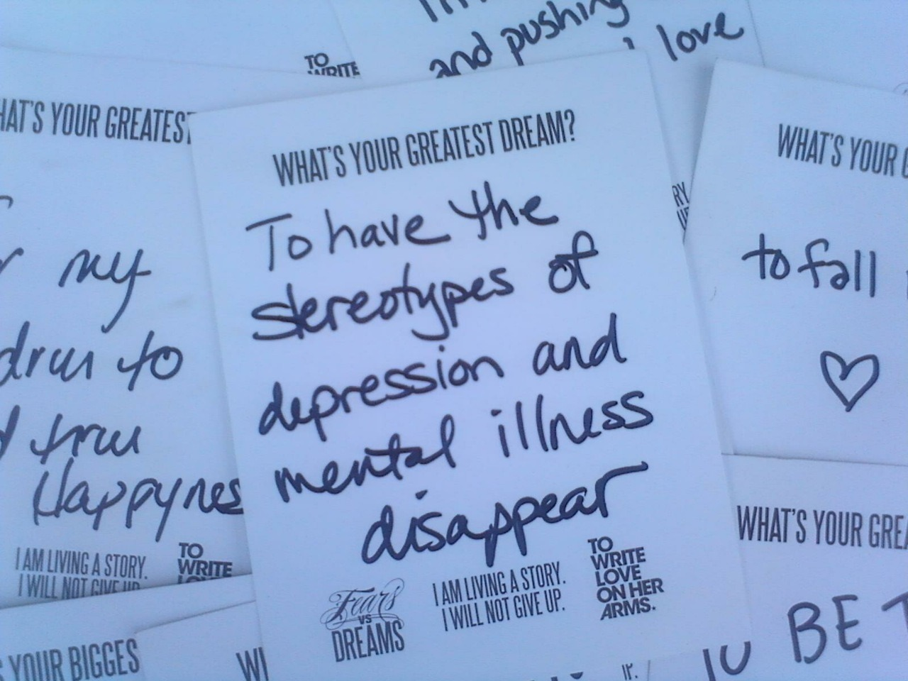 twloha:  Fears Vs. Dreams at Warped Tour in Milwaukee, WI today.