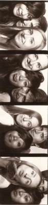 photobooooooth with Milan and Hanna! I look SO dark hahah