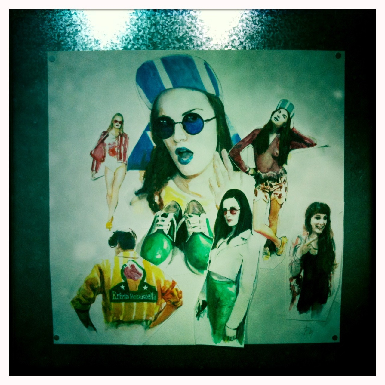 In kr store! John S Lens, Blanko Film, No Flash, Taken with Hipstamatic