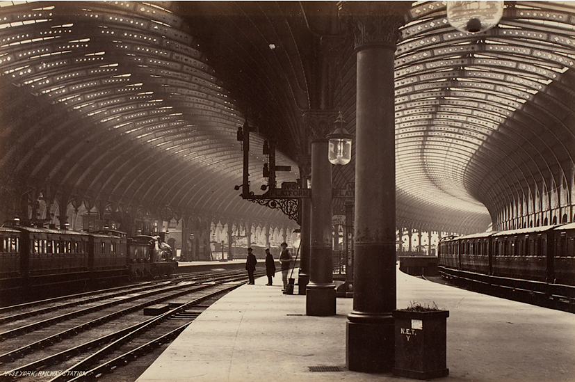 Frith Series, York, Railway Station (after 1871), from The Life and Death of Buildings