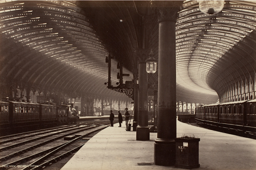 kateoplis:  Frith Series, York, Railway Station (after 1871), from The Life and Death of Buildings