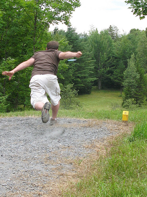 My best action shot photo #discgolf