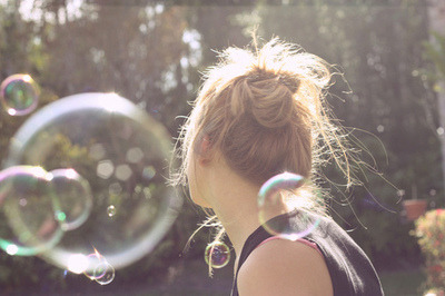 Life is like a bubble you never know when will break.