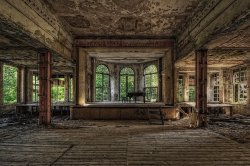 danievco:   German abandoned architecture / Deutsch verlassene Architektur #4By Axel HansmannVia spiegel.de
