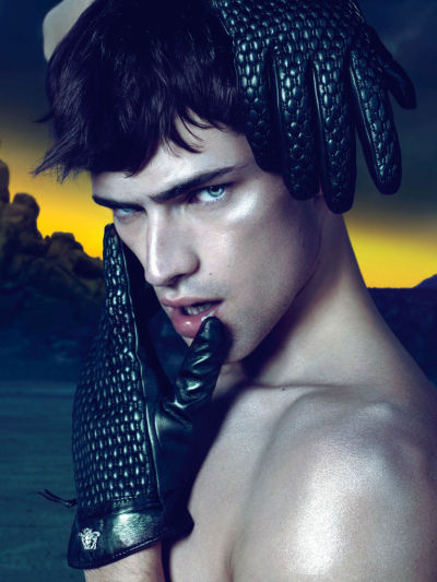 Sean O'Pry for Versace F/W 2011-2012