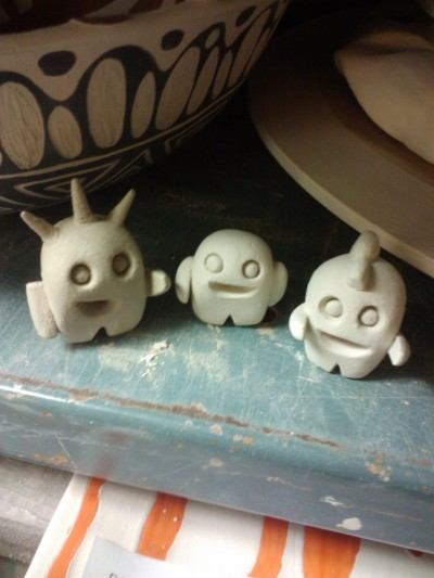 bubblegumpopper:  Off to the kiln!