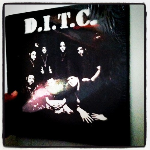 One of the gems in my collection #D.I.T.C #Thick #Original #press #vinyl #hiphop #boombap (Taken with instagram)