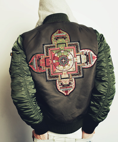 "BAL x Alpha Indusries: F/W2011 ""The End"" MA-1 Bomber Jacket"