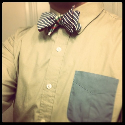 WDIWT: - Bow-tie: Social Primer x Brooks Brothers - Button up: Oak+Fort
