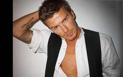 David Beckham Photoshoot