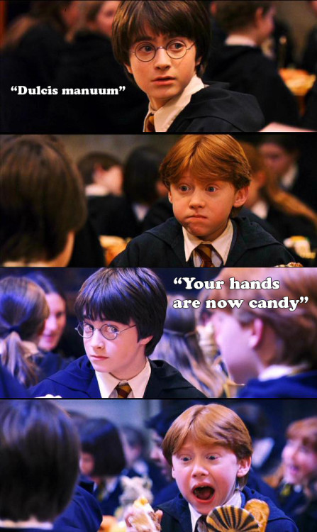 roosewe:  JAJAJAJAJAJAJA   Ron and Harry are so adorable =)