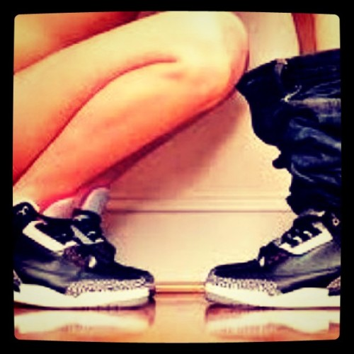 "nicekicks:  ""Sneaker Head"" (Taken with instagram) AWESOME!"